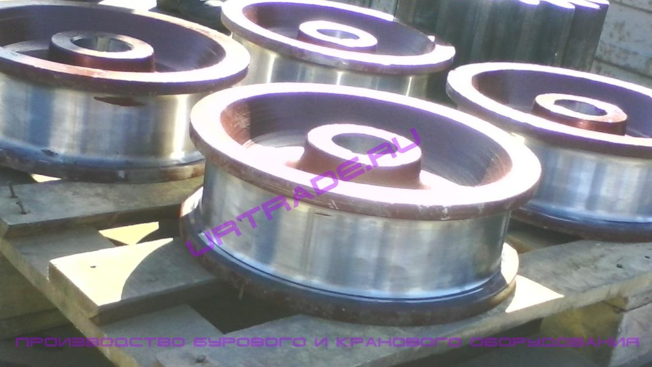 Крановое колесо к2р 200х60