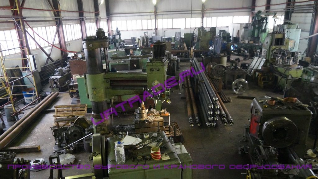 производство кранового оборудования