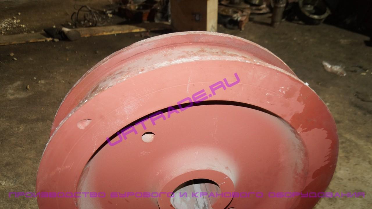 Крановое колесо к2р 400х80