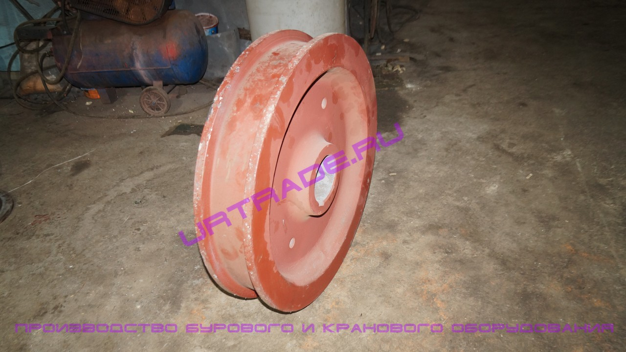 Крановое колесо к2р 500х90