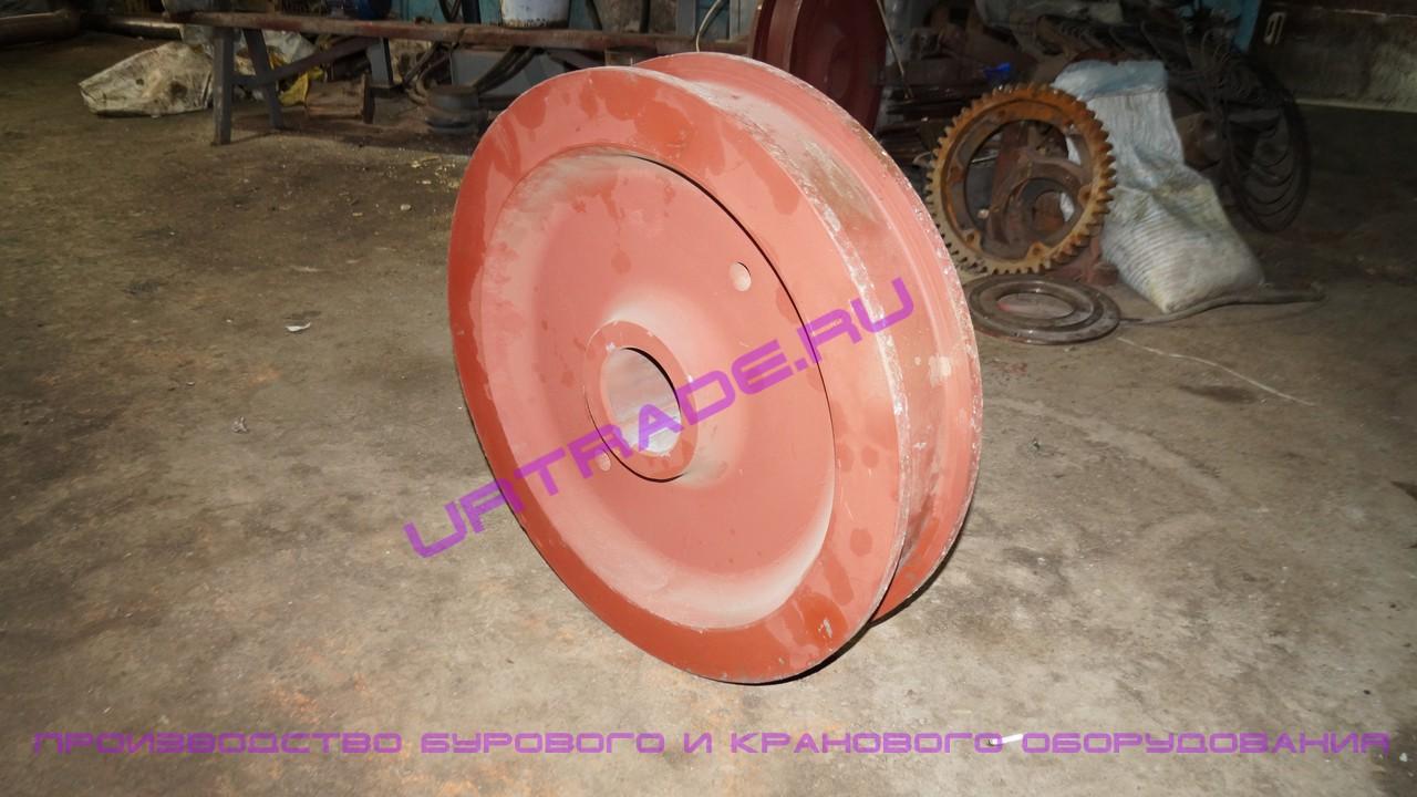 Крановое колесо к2р 800х110