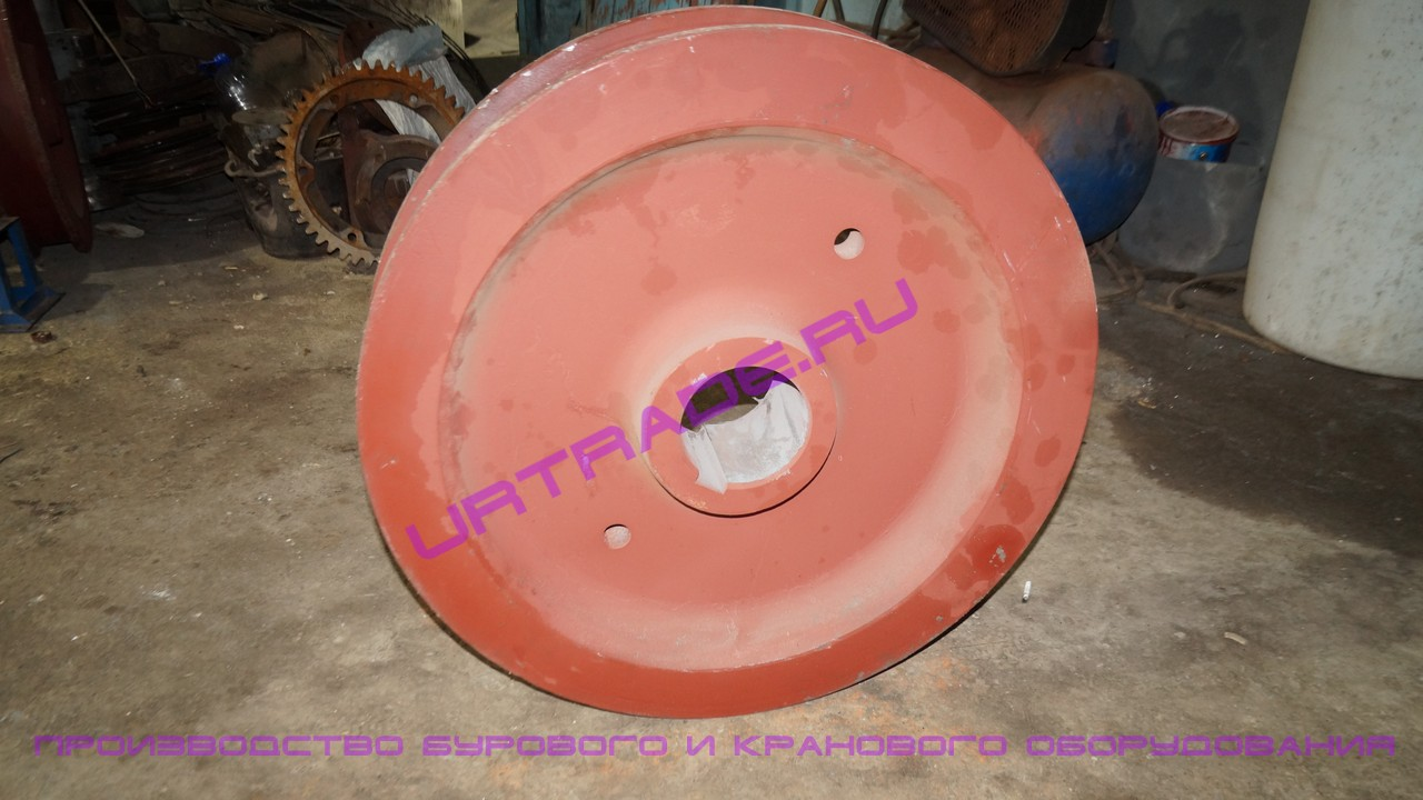 Крановое колесо к2р 800х130