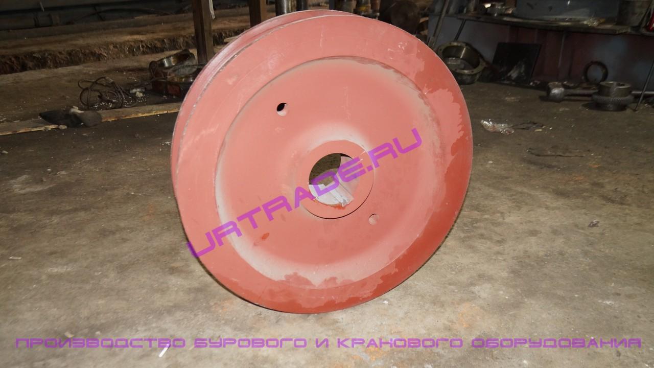 Крановое колесо к2р 800х150